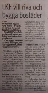 Skånska Dagbladet  2013-02-20